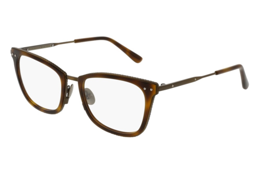 Bottega Veneta BV0065O Eyeglasses in 006 Havana Bronze