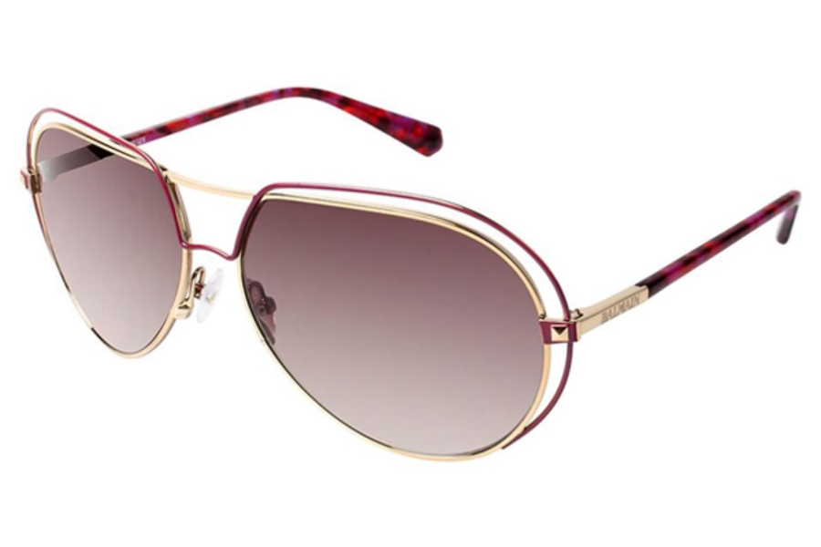 Balmain Paris BL 2031 Sunglasses in C03 Rasberry w/ Gradient Brown Lenses