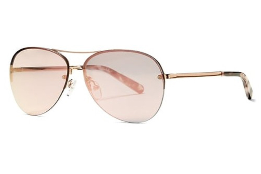 Banana Republic BRETT/S Sunglasses in 0AU2 Red Gold (0J gray rose gold lens)