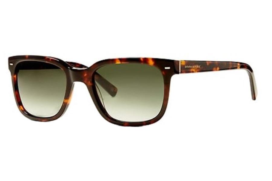7c290afc63ebe ... Banana Republic COLIN S Sunglasses in 0086 Dark Havana (9K gray green  lens) ...