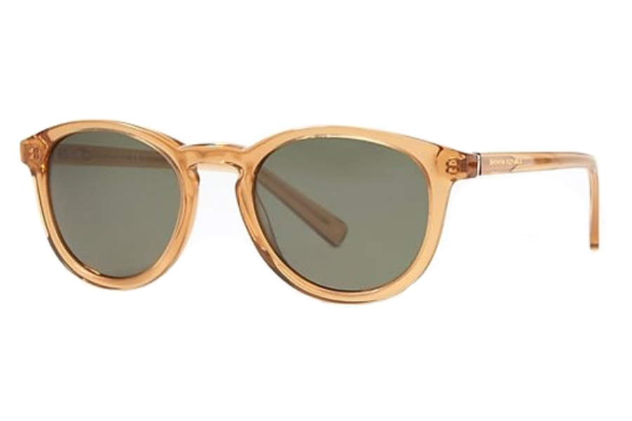 Banana Republic JOHNNY/S Sunglasses in 02T3 Crystal Beige (QT green lens) (Discontinued)