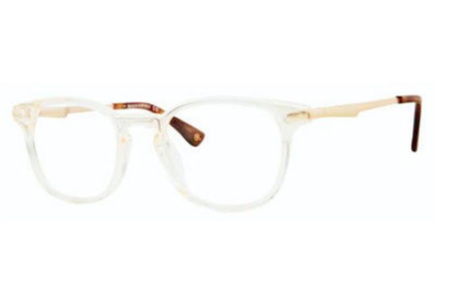 Banana Republic JAYVON Eyeglasses in 08E7 Crystal Horn