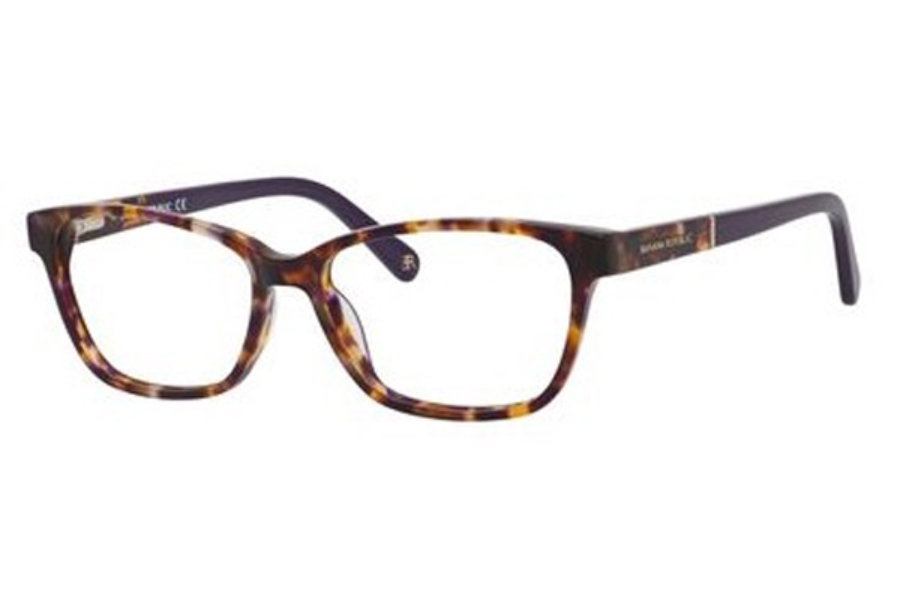 Banana Republic CLARE Eyeglasses in 0DEX Brown Violet Havana