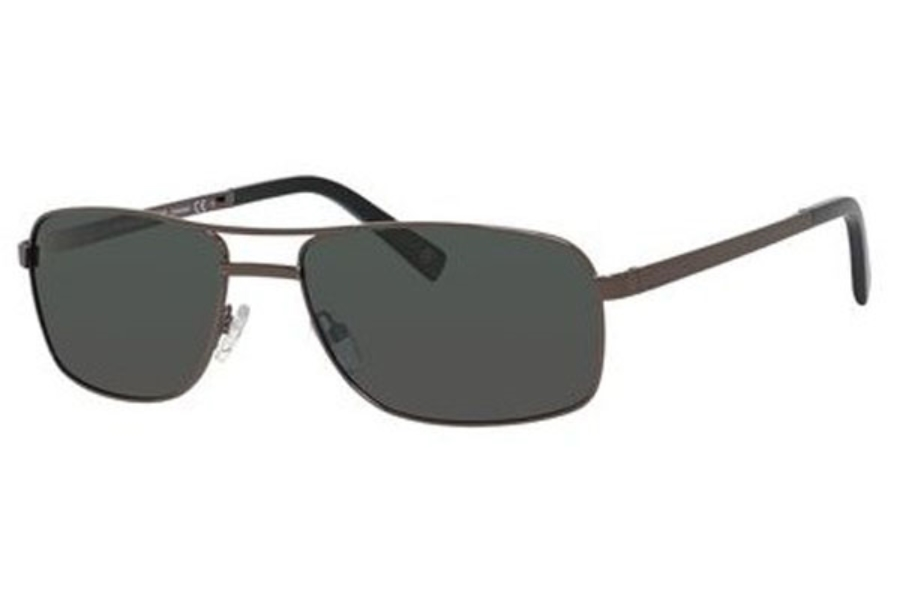 Banana Republic BENICIO/P/S Sunglasses in 07SJ Shiny Gunmetal (RA gray polarized lens)
