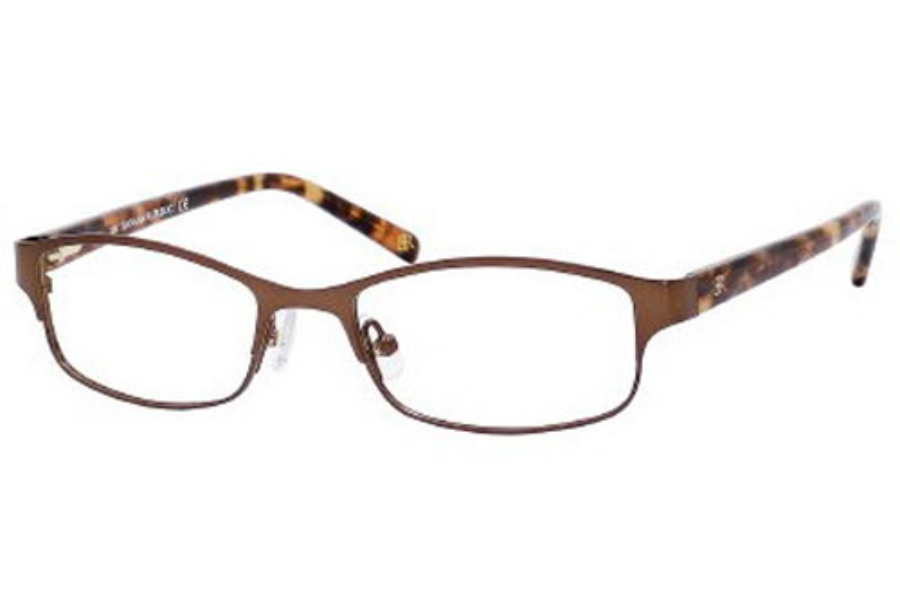 Banana Republic DEIDRA Eyeglasses in 0QZ8 Brown / Cream L Marble