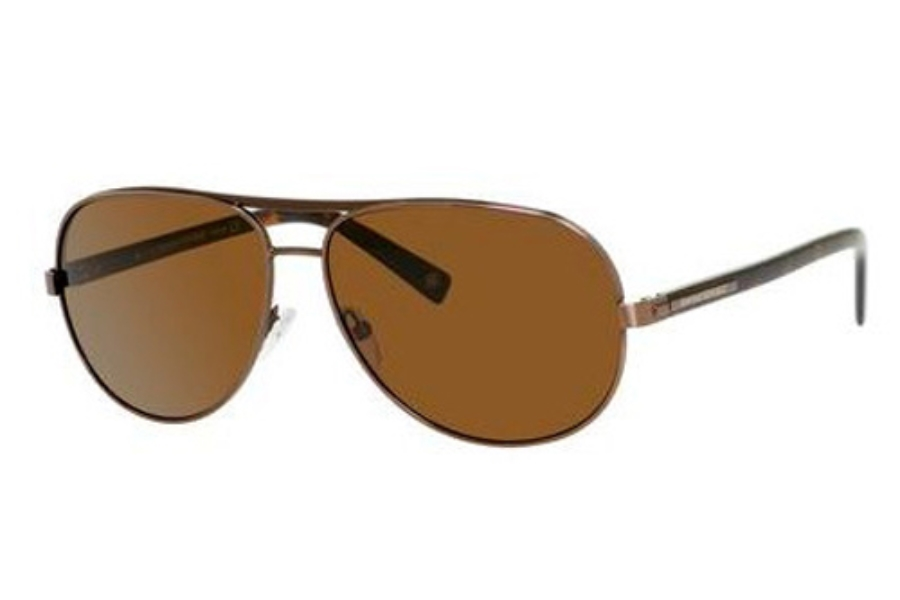 Banana Republic JED/P/S Sunglasses in TY6P Matte Brown (VW dark brown polarized lens)
