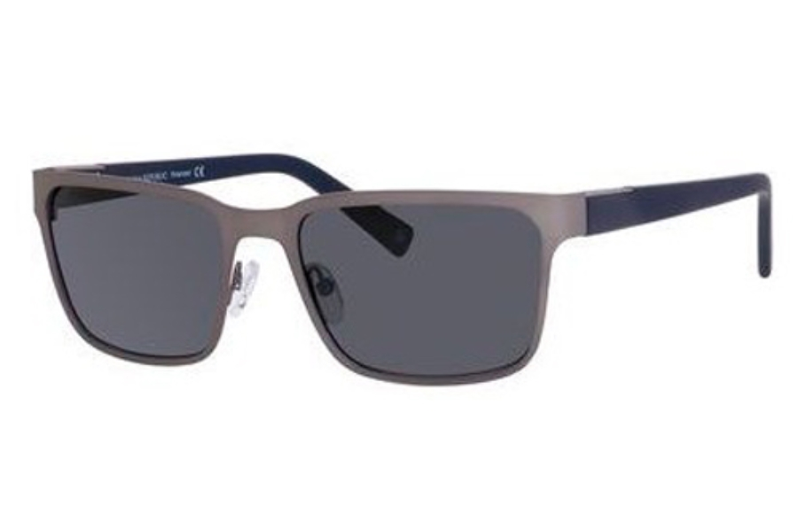 Banana Republic MARCIO/P/S Sunglasses in KJ1P Matte Ruthenium (RA gray polarized lens) (Discontinued)