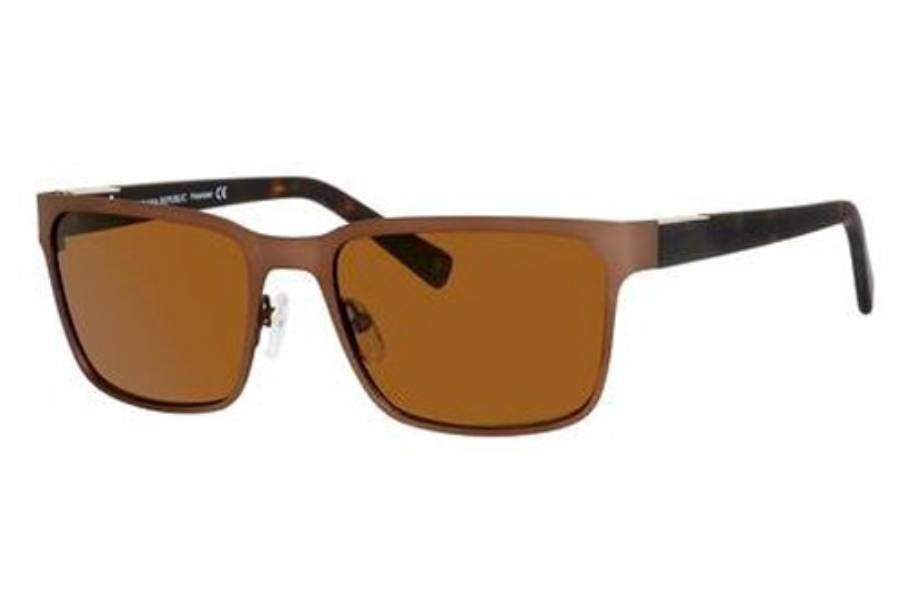 Banana Republic MARCIO/P/S Sunglasses in SQ5P Matte Brown (VW dark brown polarized lens)