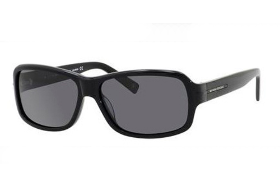 Banana Republic MARTINO/P/S Sunglasses in 807P Black (RA gray polarized lens)