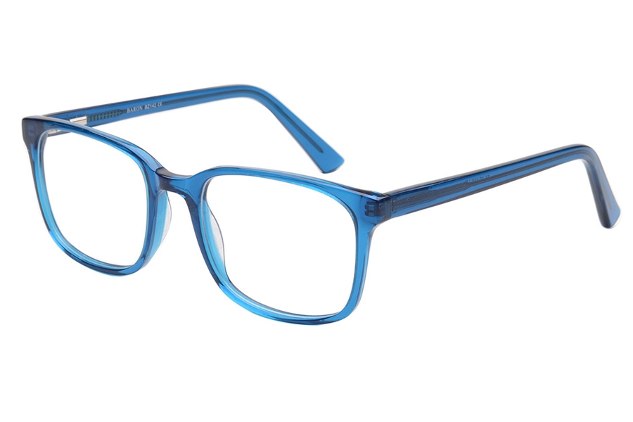 Baron BZ138 Eyeglasses in LBL Crystal Blue