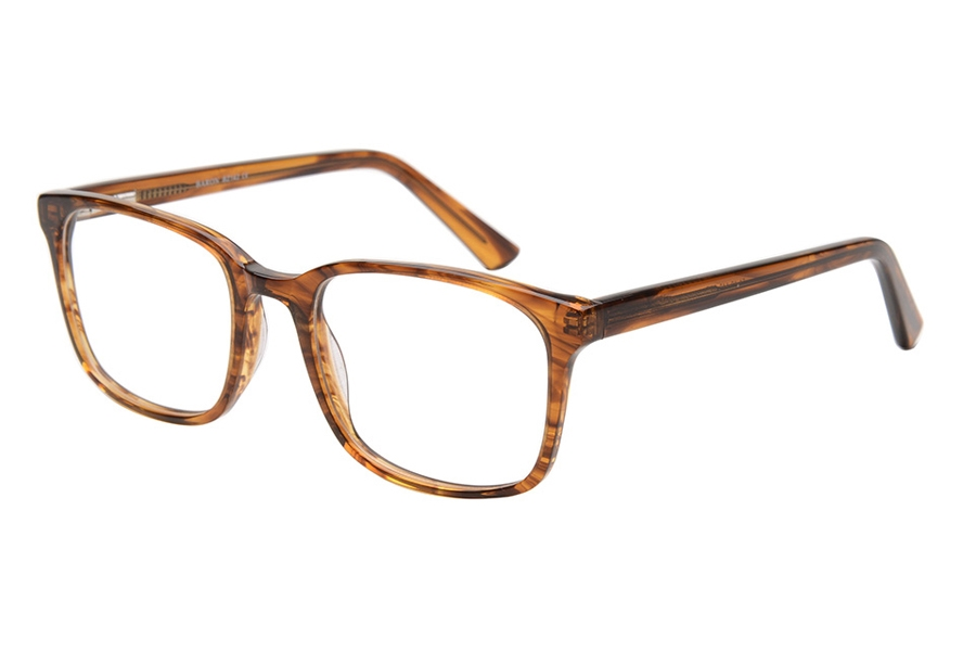 Baron BZ138 Eyeglasses in SBR Crystal Striped Brown
