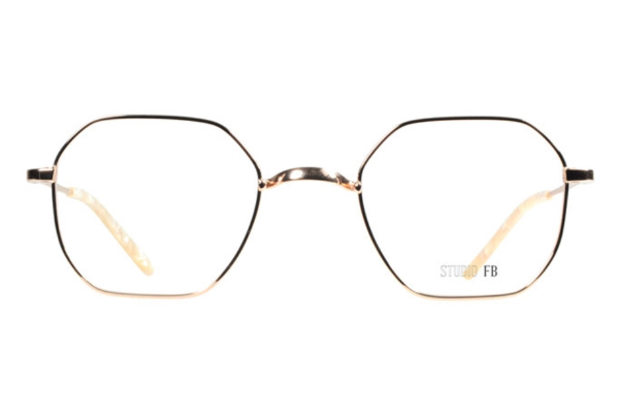 Beausoleil Paris W74 Eyeglasses in Gol Gold