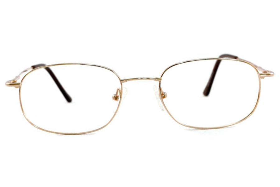 Bendabouts Jim Eyeglasses in Gold