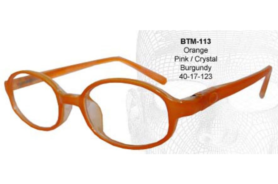 Bendatwist BTM 113 Eyeglasses in Orange