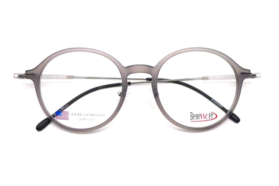 Beneserre BT-49 Eyeglasses in Matte Grey