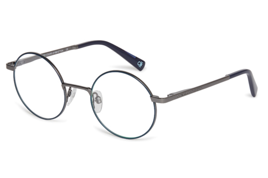 United Colors of Benetton BEO3005 Eyeglasses in 639 Navy