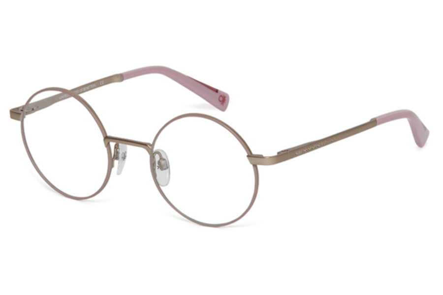 United Colors of Benetton BEO3005 Eyeglasses in 753 Purple