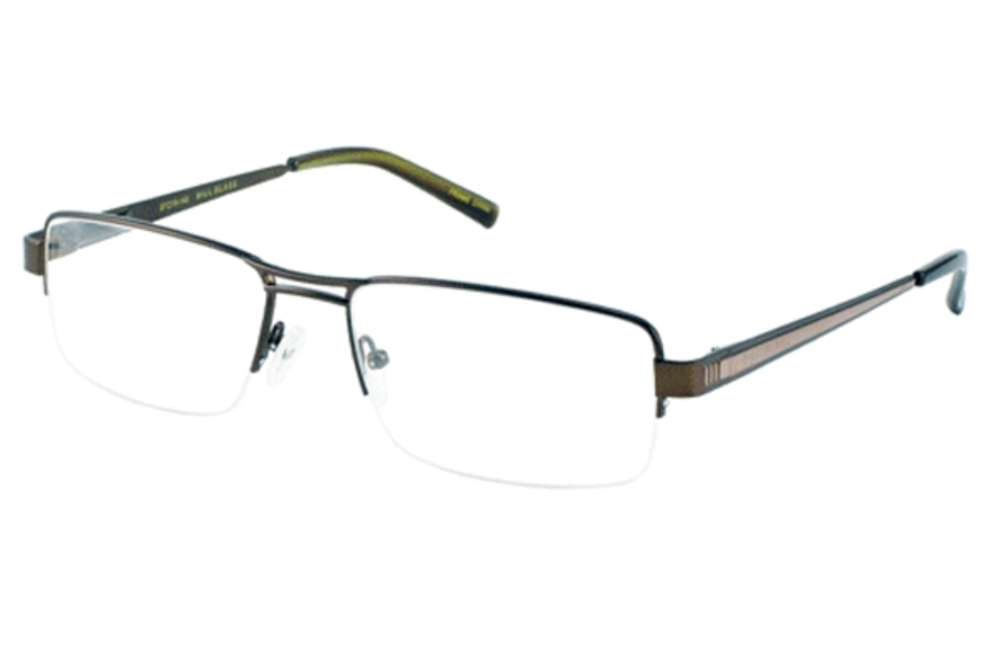 Bill Blass BB 979 Eyeglasses in Brown