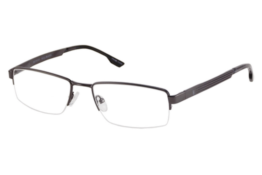 Bill Blass BB 1000 Eyeglasses in Gunmetal