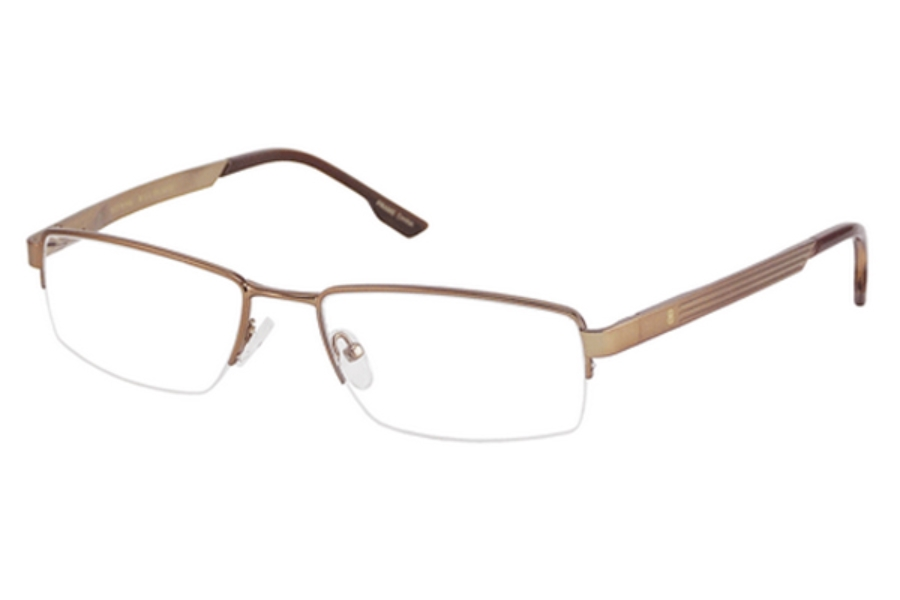 Bill Blass BB 1000 Eyeglasses in Light Brown