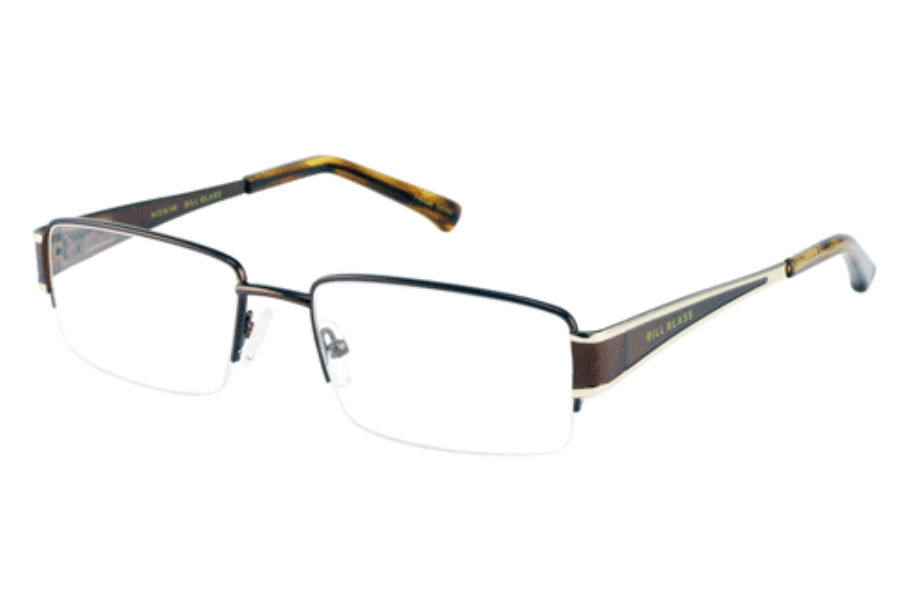 Bill Blass BB 978 Eyeglasses in DARK BROWN