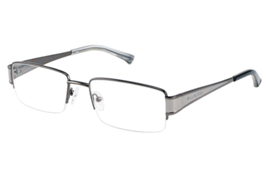 Bill Blass BB 978 Eyeglasses in DARK/LIGHT GUNMETAL