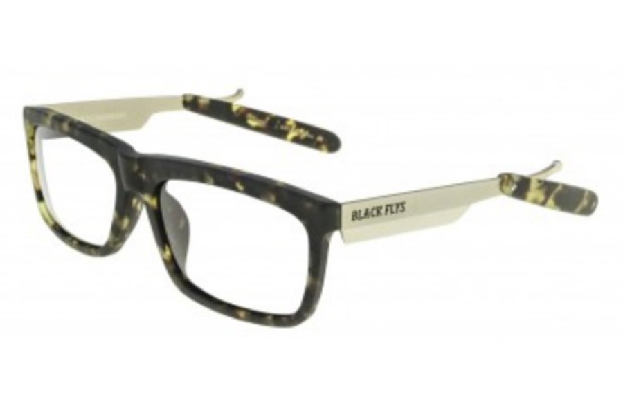 Black Flys FLY RAZOR 2 READER Readers in Matte Tortoise w/ G-15 Lens