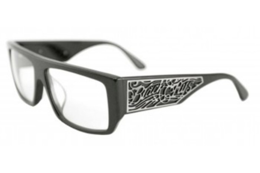 Black Flys SCI FLY 4 READER Readers in Shiny Black w/ Clear Lens