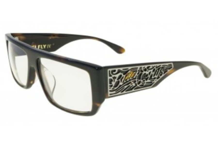 Black Flys SCI FLY 4 READER Readers in Tortoise w/ Clear Lens
