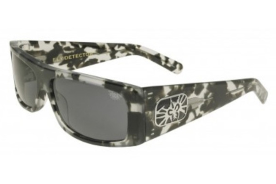 Black Flys FLY DETECTOR Sunglasses in Cookies N Cream w/ Smoke Polarized Lens (+$20.00)