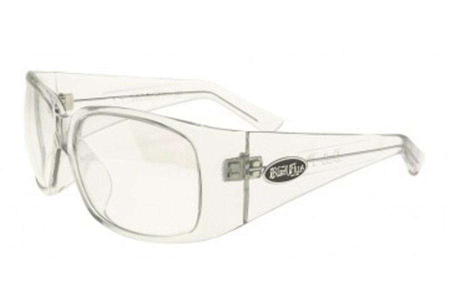 Black Flys DUB FLY Eyeglasses in Clear w/ Clear Flash Lens