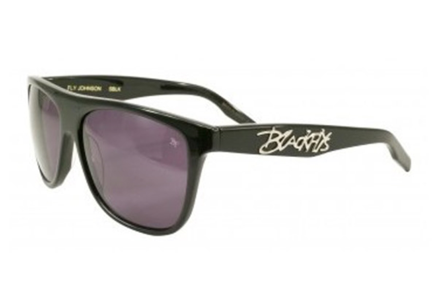 Black Flys FLY JOHNSON Sunglasses in Shiny Black w/ Smoke Transition Lens