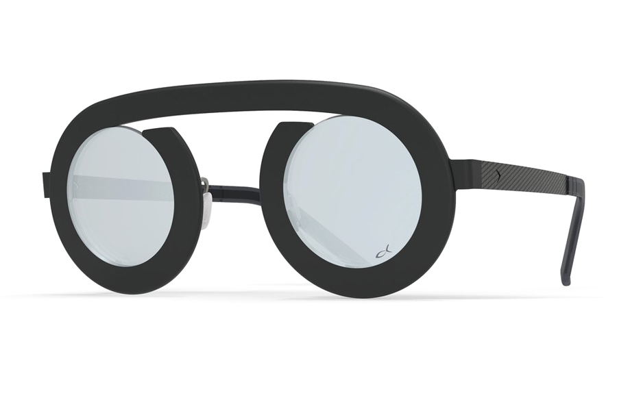 Blackfin Arc Sunglasses in 817 Black/Gray