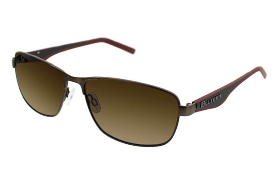 BluTech Heavy Metal Sunglasses in Gunmetal Matte