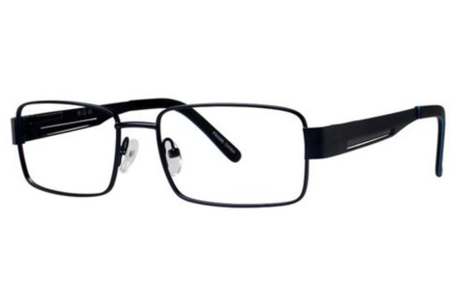 Blu Blu 124 Eyeglasses in Satin Navy/Gray