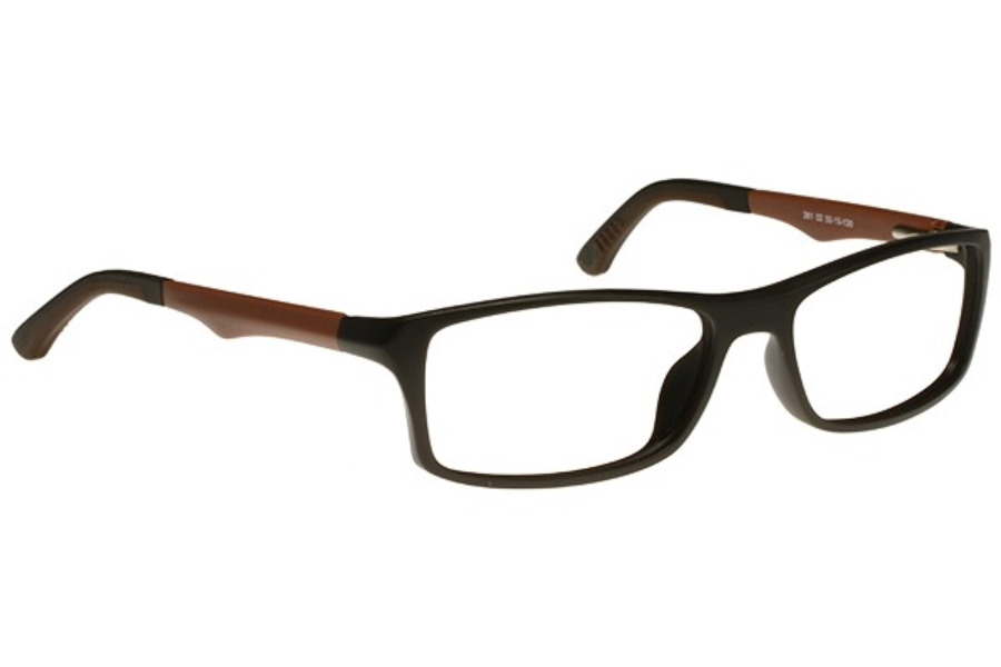 Bocci Bocci 381 Eyeglasses in 02 Brown