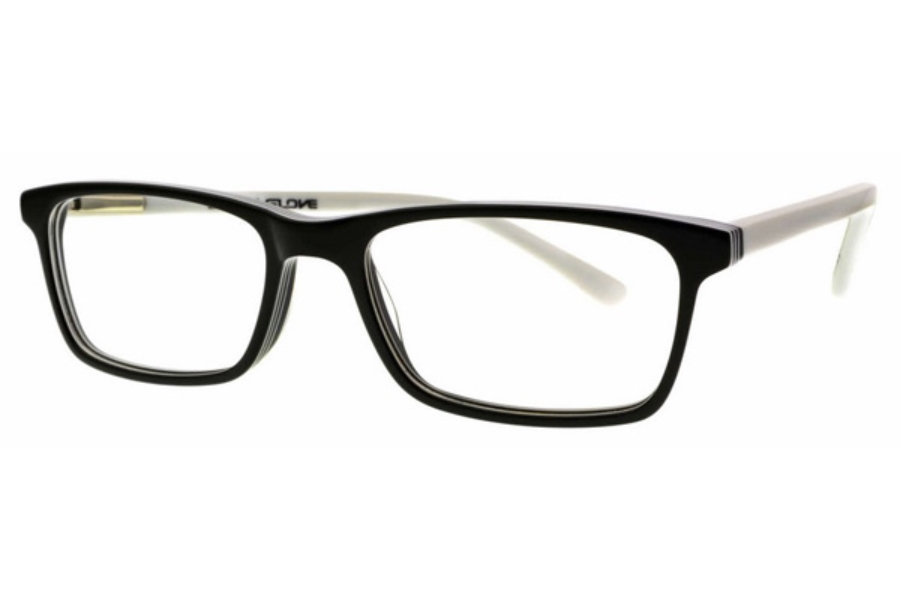 Body Glove BB 148 Eyeglasses in Shiny Black