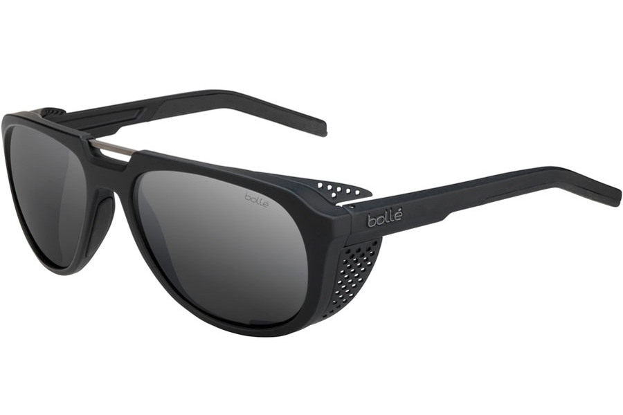 Bolle Cobalt Sunglasses in 12527 Matte Black Polarized W/Tns Gun