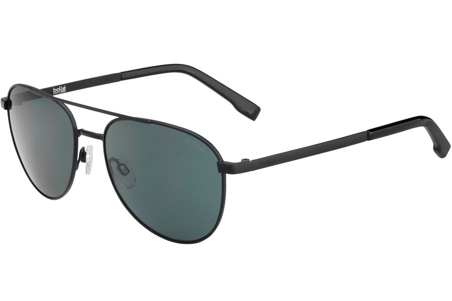 Bolle Evel Sunglasses in 12535 Matte Black Polarized W/Tns