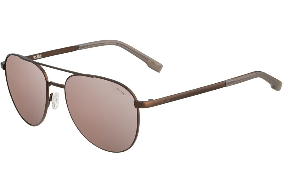 Bolle Evel Sunglasses in 12545 Matte Earth Phantom W/Brown Gun