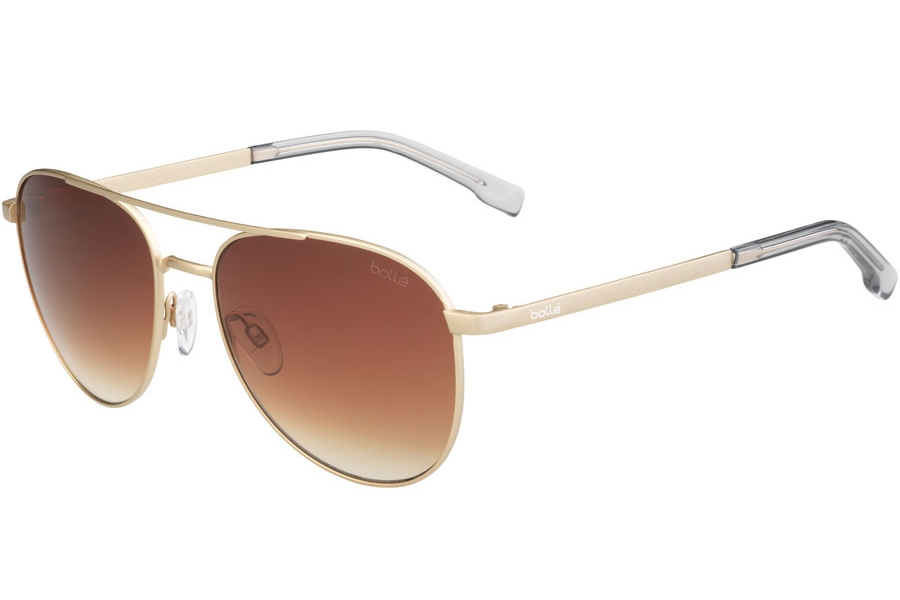 Bolle Evel Sunglasses in 12550 Matte Sand Brown W/Gradient