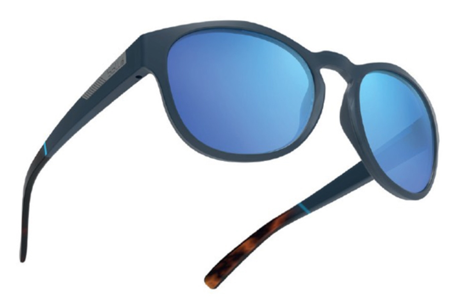 58fe3bcc460a Bolle Rooke Sunglasses in 12349 Rubber Blue   Tortoise Pc Gb10 Lens ...