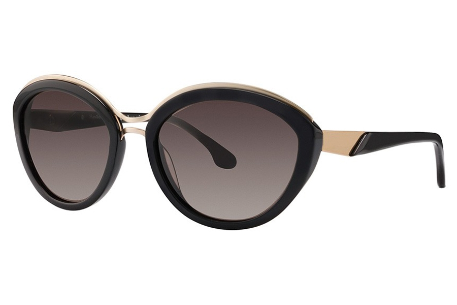 Bon Vivant Penelope Sunglasses in 7038 Black/Pale Gold