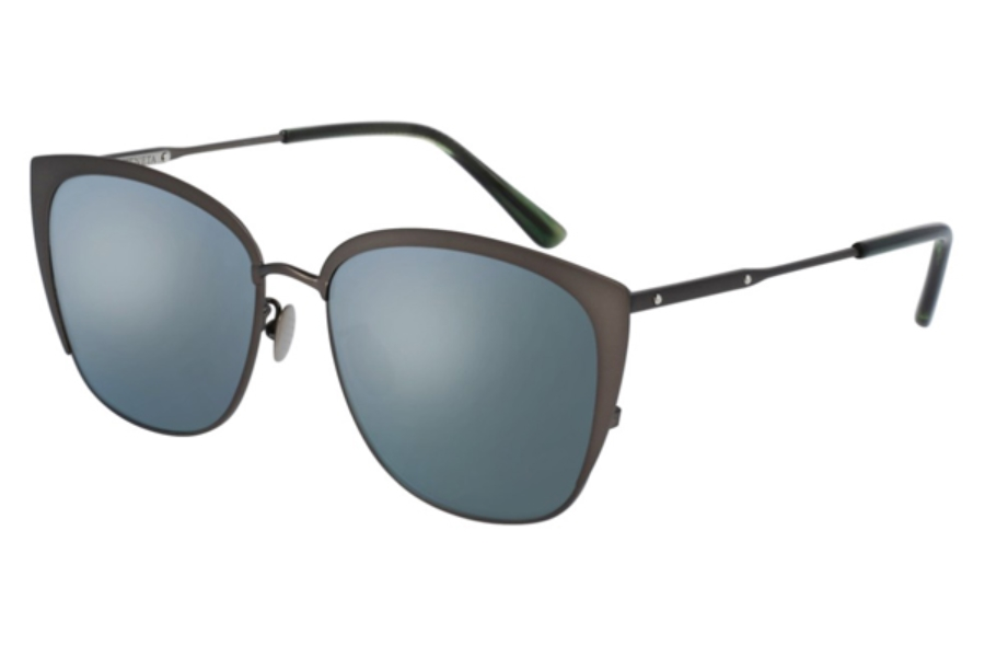Bottega Veneta BV0089SK Sunglasses in 003 Ruthenium / Silver