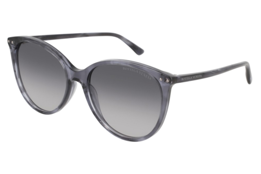 Bottega Veneta BV0159S Sunglasses in 004 Grey / Grey