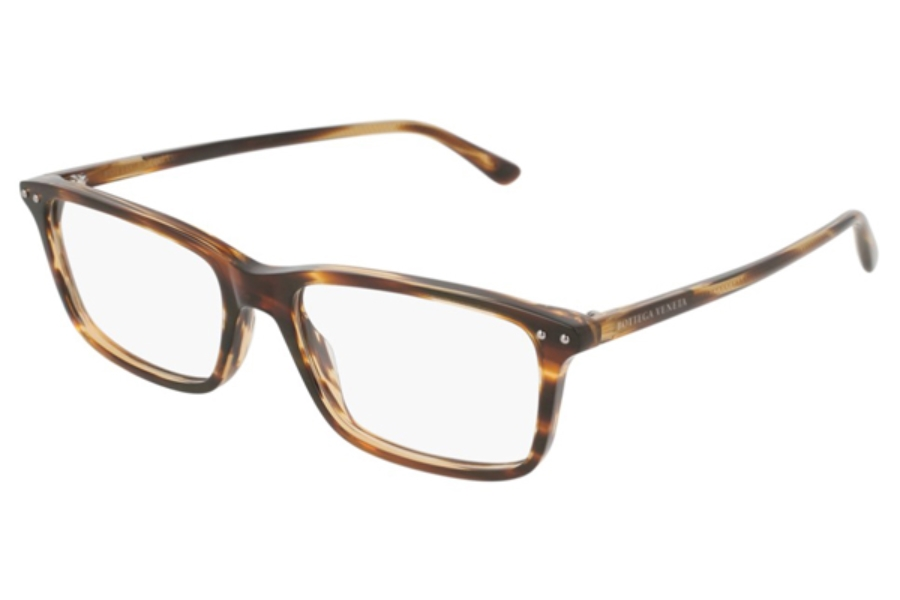 Bottega Veneta BV0163O Eyeglasses in 008 Brown