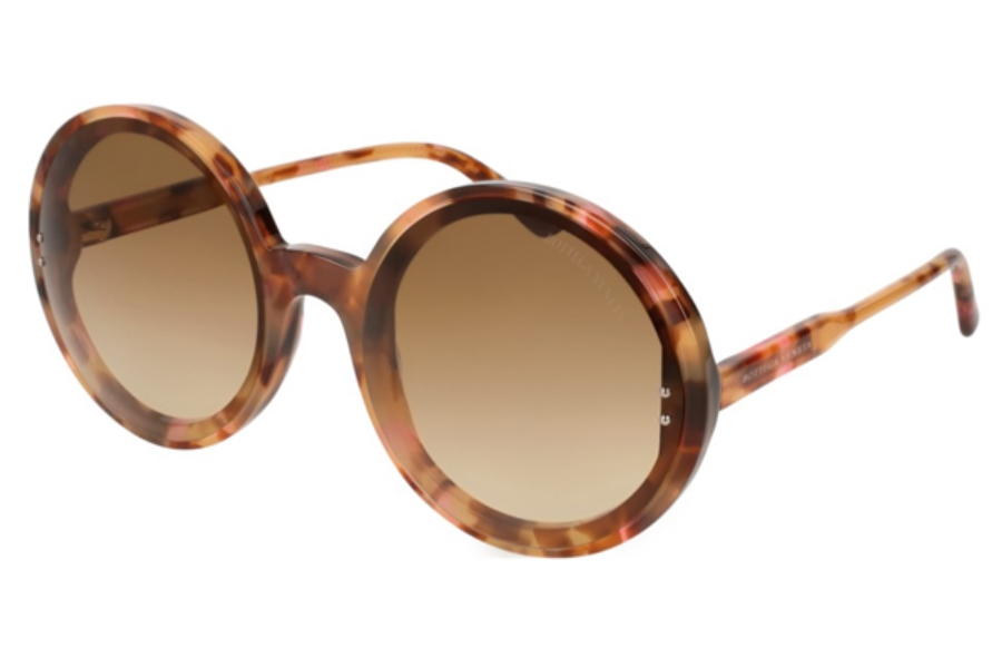 Bottega Veneta BV0166S Sunglasses in 003 Havana / Bronze