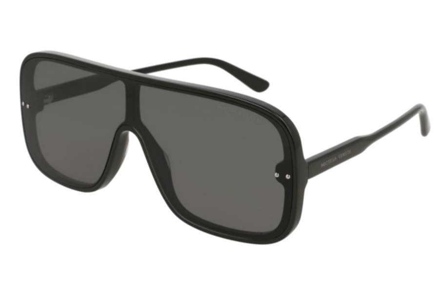 Bottega Veneta BV0167S Sunglasses in 001 Black / Grey
