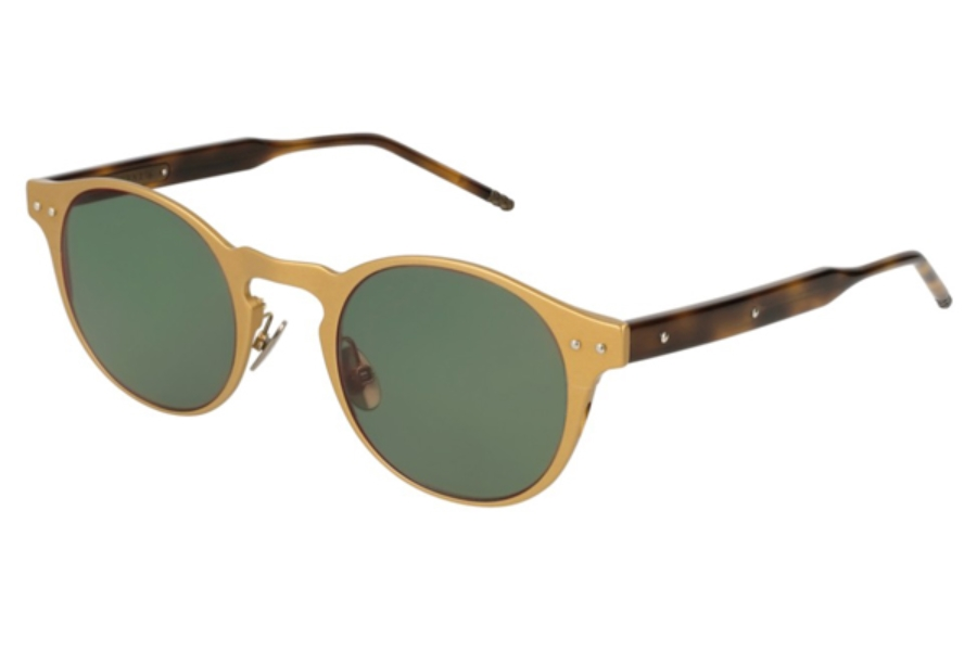 Bottega Veneta BV0180S Sunglasses in 003 Bronze / Green