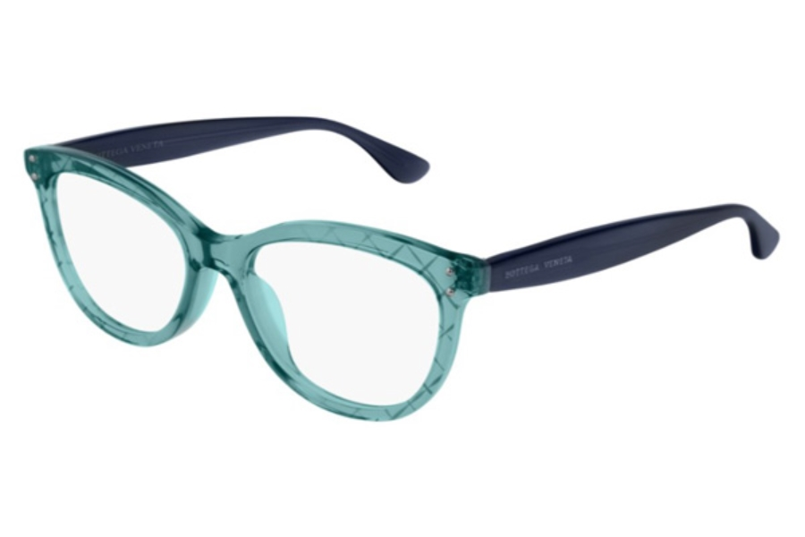Bottega Veneta BV0235O Eyeglasses in 003 Blue